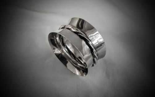 SILVER FLUTES PATTERN -TOWLE STERLING NAPKIN RING