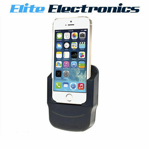 CARCOMM IPHONE SE 5S 5 5C MULTI BASYS CRADLE CHARGING INTEGRATED ANTENNA COUPLE