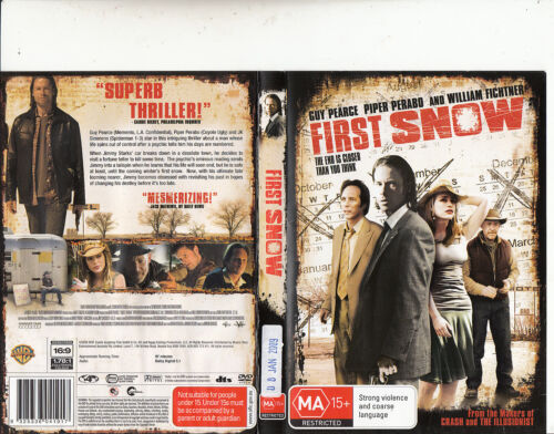 First Snow-2006-Guy Pearce-Movie-DVD
