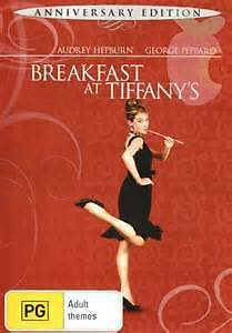 Breakfast at Tiffany's (DVD), Anniversary Edition, new (unsealed), free shipping