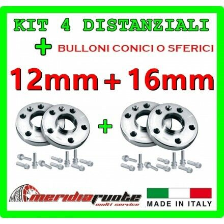 KIT 2 DISTANZIALI 16MM REPARTOCORSE BMW SERIE 3 F31 330d xDrive MADE IN ITALY