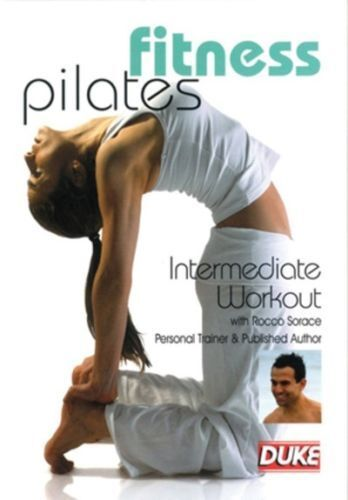 FITNESS PILATES INTERMEDIATE WORKOUT with ROCCO SORACE DVD**BRAND NEW,SEALED*