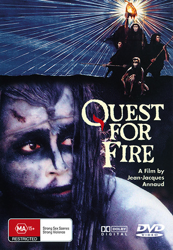 Everett McGill Ron Perlman QUEST FOR FIRE - MONUMENTAL PRE-HISTORIC TALE DVD