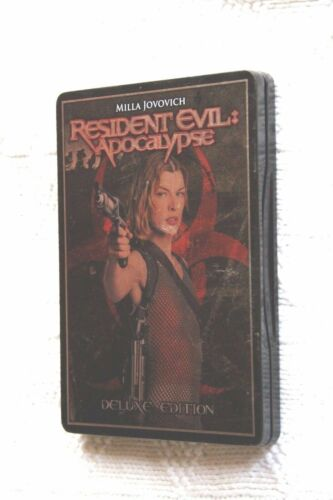 Resident Evil: Apocalypse (DVD, deluxe edition ) R-4, Like new, free shipping