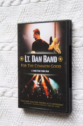 LT. Dan Band: For the Common Good (DVD)R-1, Like new (disc: New) free shipping