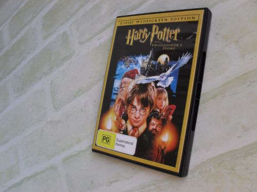 HARRY POTTER AND THE PHILOSOPHER'S STONE - REGION 4 PAL SINGLE DISC DVD