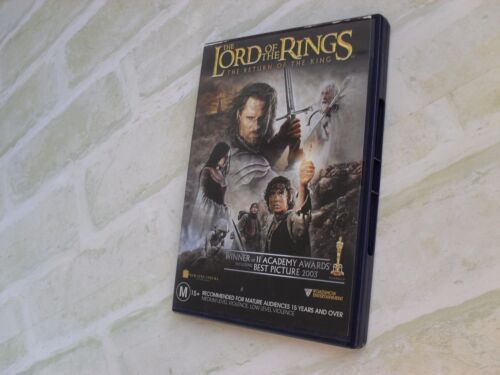 THE LORD OF THE RINGS THE RETURN OF THE KING - REGION 4 PAL - 2 DISC DVD