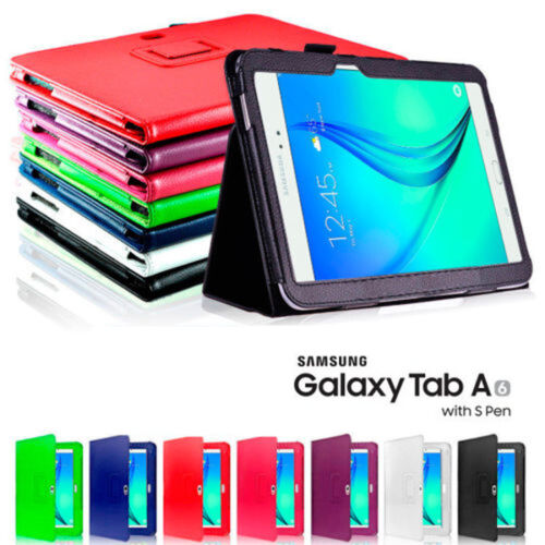 Flip Leather Case Cover For Samsung Galaxy Tab A6 A 10.1 (2016) S-Pen  P580 P585