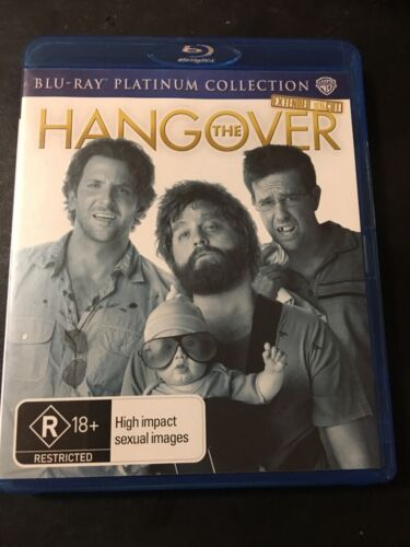 The Hangover (Blu-ray, 2010) Extended Uncut Region B