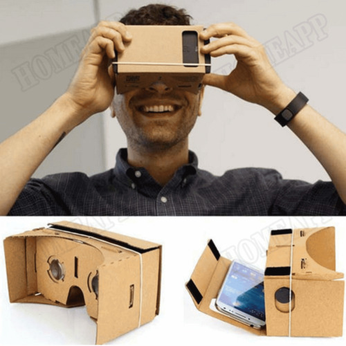 0bf729cc6a51 3D Google Cardboard Glasses VR Virtual Reality for mobile phone Headset