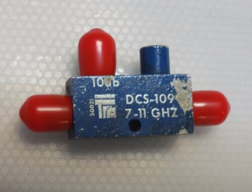 TRM Microwave 10dB 7-11Ghz Directional Coupler SMA