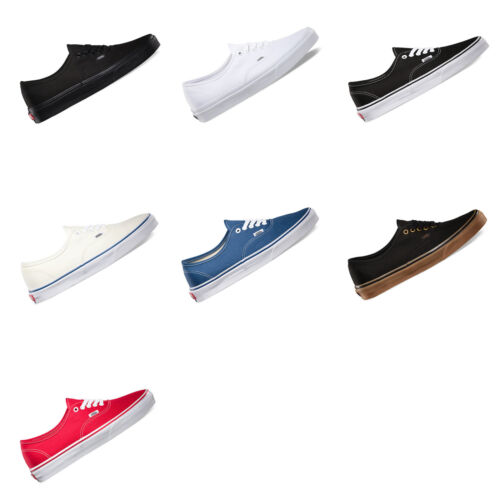 VANS Authentic Mens Canvas Casual Shoes Sneakers Skateboard US Size