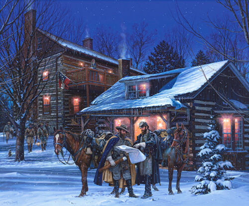 """HEADQUARTERS AT NARROW PASSAGE"" by John Paul Strain - S/N Archival Paper Giclée"