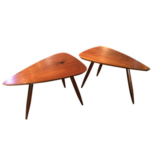 Two Walnut Table Studio Made By Phillip Llyod Powell