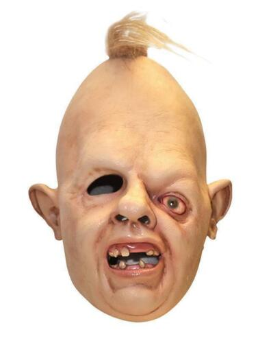SLOTH LATEX MASK DELUXE GOONIES HALLOWEEN FANCY DRESS COSTUME 1980's 80's <br/> FREE Royal Mail 1st Class deliver &Sent on the same day