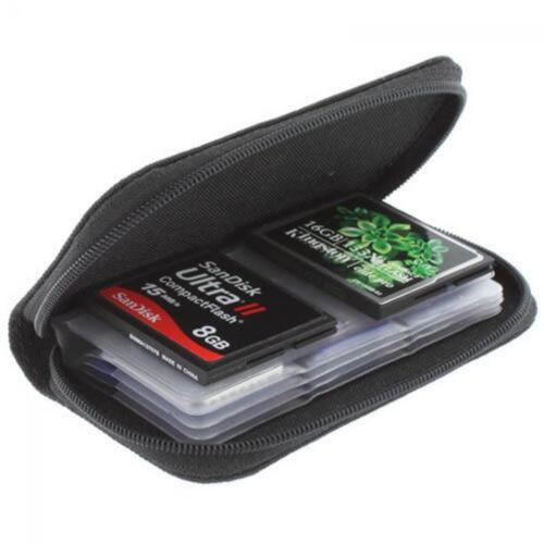 Holder Wallet Carrying Pouch Memory Card Storage Box Case for CF/SD/SDHC/MS/DS