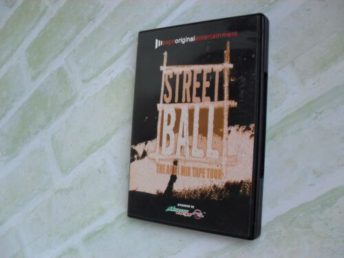 STREET BALL- THE AND1 MIX TAPES TOUR- SEASON ONE- 2 DISC PAL DVD- BASKETBALL