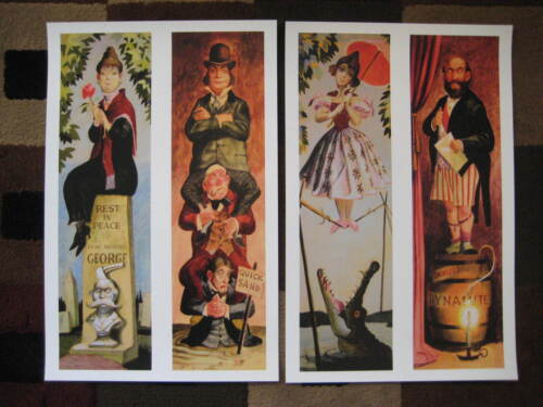 "Vintage Disney 11"" x 17"" ( Haunted Mansion Stretching Room ) Collector's Prints"