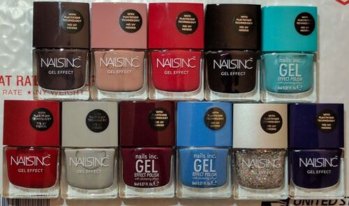NAILS INC London Gel Effect Nail Polish No UV Needed You Choose the Color