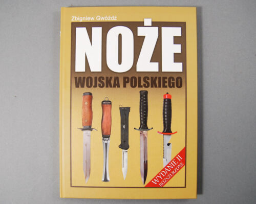 BOOK MILITARY KNIVES BAYONETS POLISH ARMY SPECIAL FORCES DIVERS PARATROOPERSOther Militaria - 135