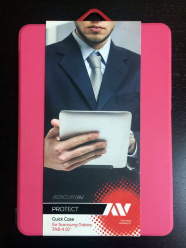 "MERCURY AV PROTECT QUICK CASE for SAMSUNG GALAXY TAB 4 10""-PINK  **NEW**"
