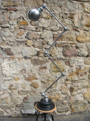 Beautiful  4 arms Jielde  Lamp 1950 Vintage 100% Original French Industrial