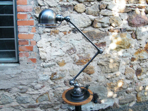 Beautiful  2 arms Jielde  Lamp 1950 Vintage 100% Original French Industrial