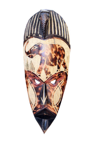 Vintage Hand Carved African Tribal Mask Tribal Art African Art Ghanaian Mask