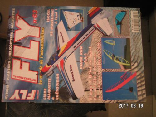 **a Fly magazine n°63 Plan encarté Multifly / OS 91 FX / Solostar Airline