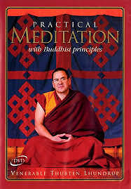 Practical Meditation with Buddhist Principles (DVD) R-All,  Like New, free post