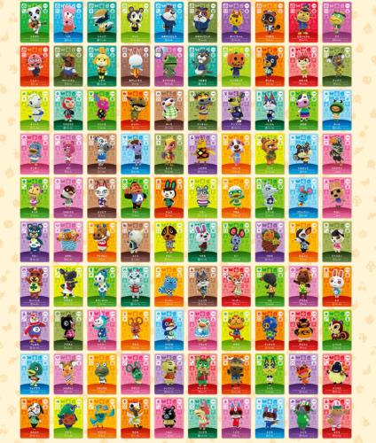ANIMAL CROSSING AMIIBO SERIES 2 CARDS # 101-200 CARD WORKS IN AC NEW HORIZANS
