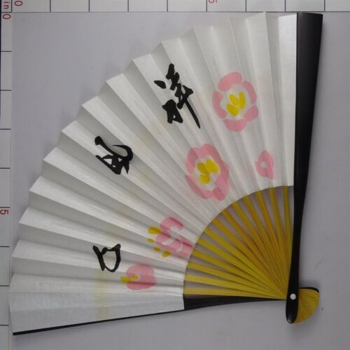 YU123 SENSU Japanese Fan painting Nihonga Picture Geijyutu Traditional crafts