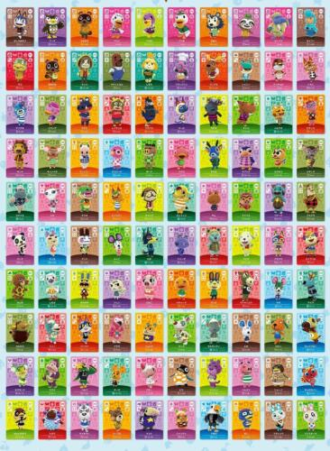 ANIMAL CROSSING AMIIBO SERIES 3 CARDS # 201-300 ALSO WORKS IN AC NEW HORIZONS