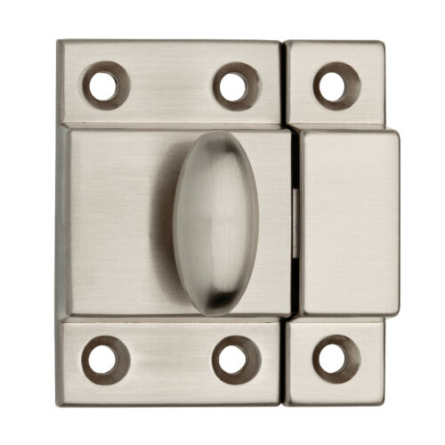 Brainerd Chrome Cabinet Latch Provide Visual Statement Your Home Nickel Finish