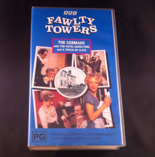 BBC Fawlty Towers - The Germans/The Hotel Inspectors - VHS Video Cassette