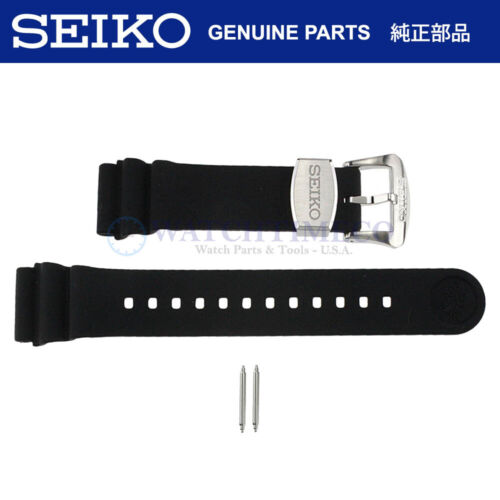Original Seiko Prospex Turtle Rubber Band Strap + Pins for SRP777 R02F011J9