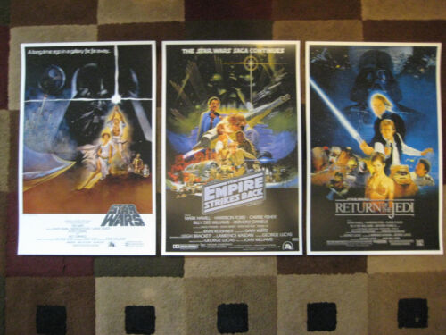 """Star Wars Trilogy (11"""" x 17"""") Movie Collector's Poster Prints ( Set of 3 )"""