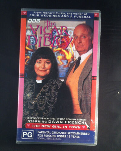 The Vicar Of Dibley - The New Girl In Town - Dawn French - VHS Video Cassette