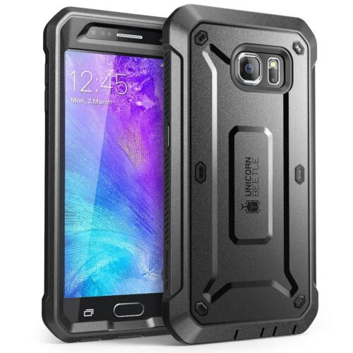 Galaxy S6 SUPCASE Fullbody Rugged Holster w/ Built-in ScreenProtector UBPro