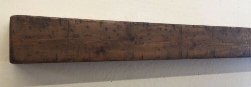 Primitive Fireplace Mantle, Wood Beam Mantle, Rustic Mantle,72 inches
