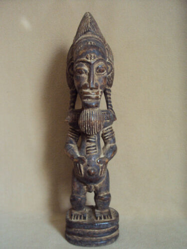 SALE - WAS $129 RARE BAULE King African Carving Statue!!