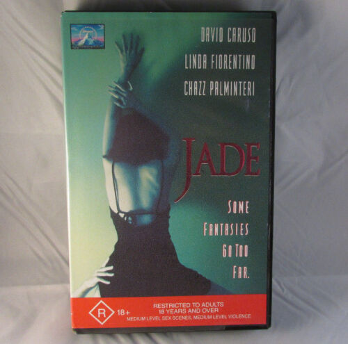 Jade (Some Fantasies Go Too Far) - David Caruso - Rated R - 1995 - Video VHS