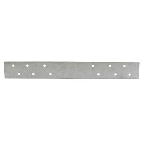 """Pack 50, 3"""" x 18"""" Galvanized Steel Standard F.H.A. Strap with 6 Offset Holes, 16"""
