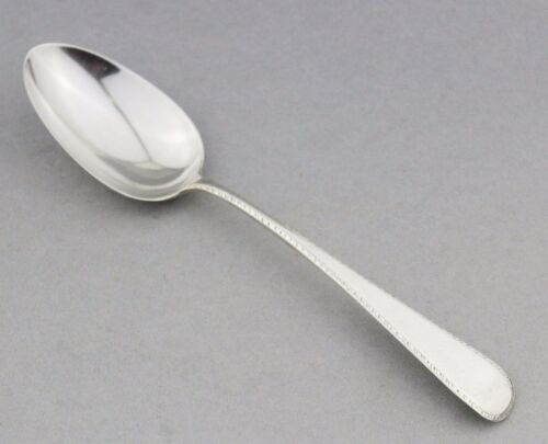 Antique Spoon Georgian Sterling Silver ca.1830 Clement Cheese Solid English UK