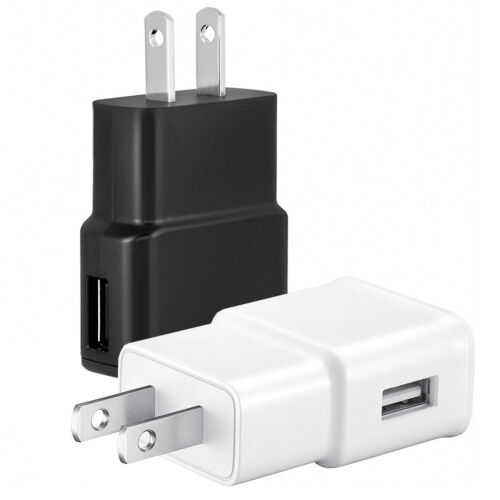 2A USB Wall Charger Plug Home Power Adapter For iPhone Samsung Android LG HTC