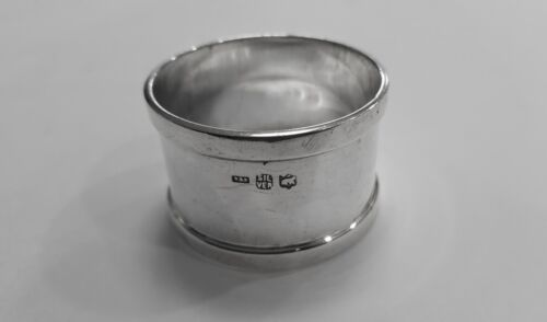 Antique Anglo Indian Colonial Silver Napkin Ring by J Manikrai & Sons of Karachi