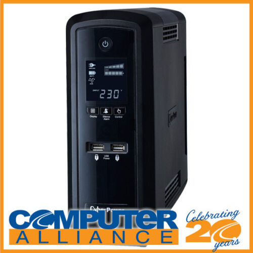 1500VA CyberPower PFC Sinewave Series Tower UPS with LCD