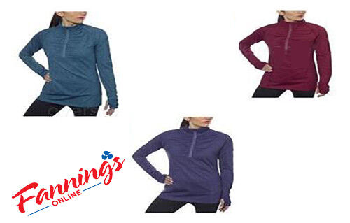 NEW WOMEN'S KIRKLAND SIGNATURE ACTIVE 4-WAY STRETCH 1/4 ZIP PULLOVER! VARIETY!