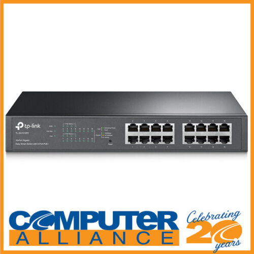 16 Port TP-Link TL-SG1016PE Gigabit Switch with Power over Ethernet