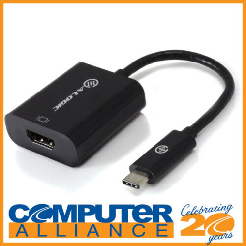 10cm ALOGIC USB-C to HDMI Adapter with 4K2K Support